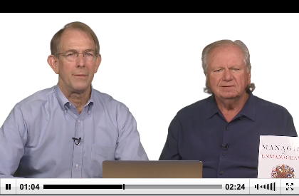 Co-authors Ron Lichty and Mickey Mantle deliver Summary to LiveLessons: Managing Software People and Teams.